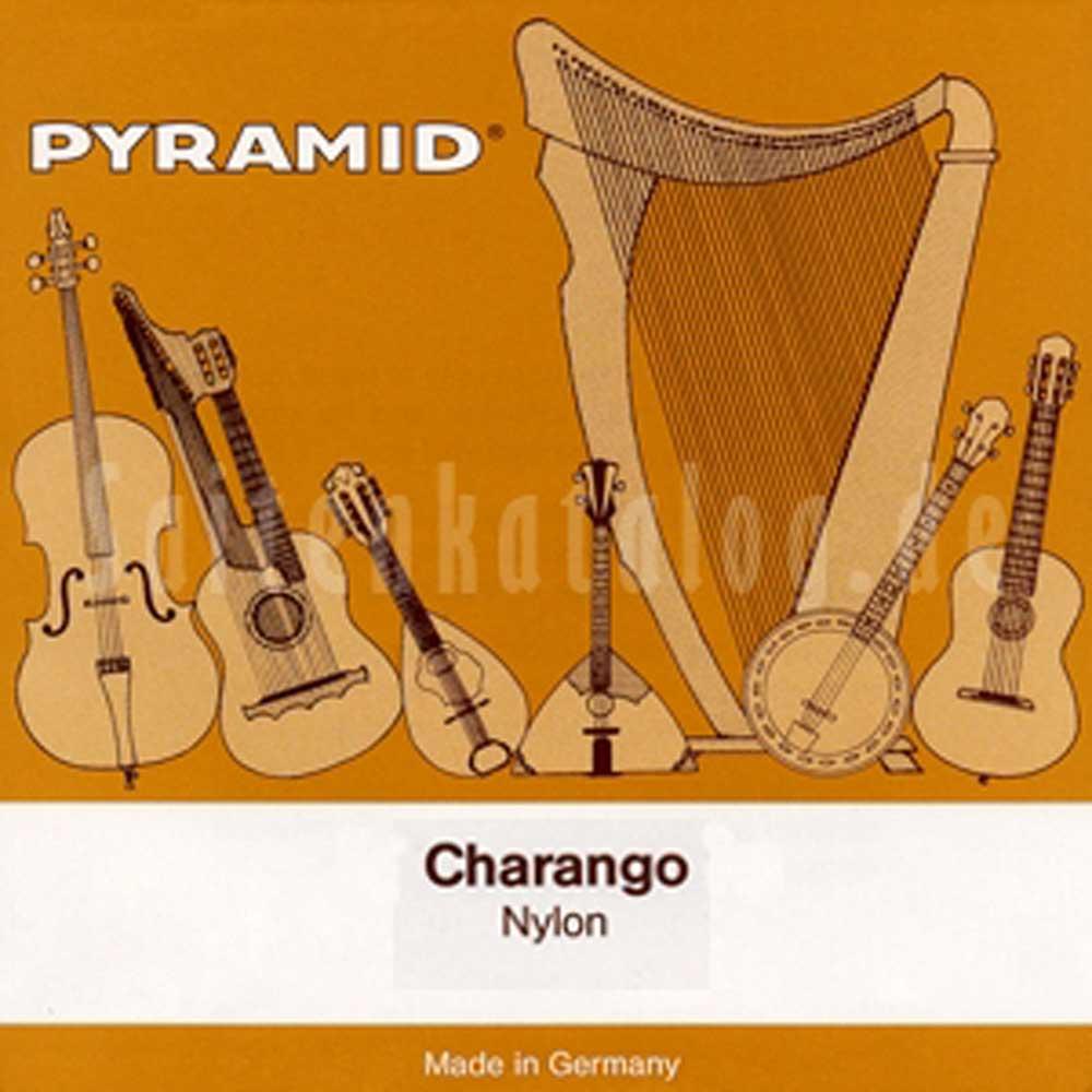 6-saitig Pyramid Oktav Gitarre Nylon Saiten SATZ