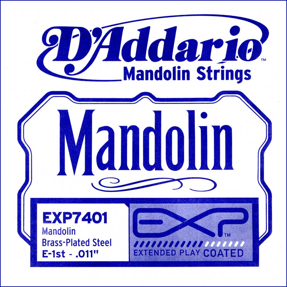D'Addario EXP7401 Mandoline Plain Steel e''-1 (Loop End ...