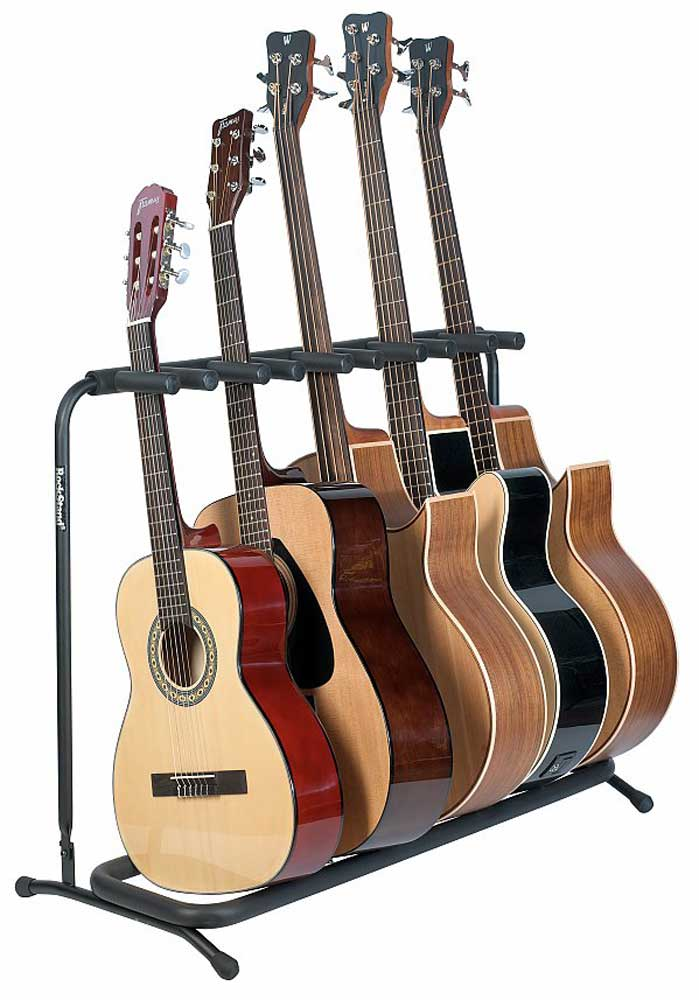 buy rockstand rs 20871b 2 multiple guitar stand classic acoustic for 5 instruments online with. Black Bedroom Furniture Sets. Home Design Ideas